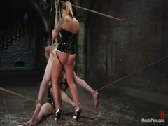 Claire Adams and Fiona Cheeks Kinky Mistress
