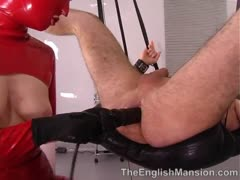 Latex Dominatrix Anal Invation