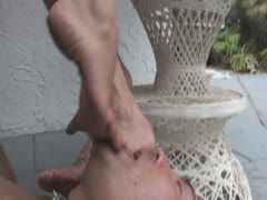 Foot Slave for Cruel Couple