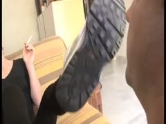 Dirty Sneakers Foot Domination