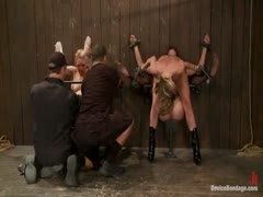 Amber Rayne, Rain DeGrey, and Ariel X Part 2 of 4 of the October Live show