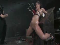 Jade Indica Oiled, fucked, bound and tortured