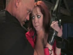 Girl next door fucked and dominated in hard bondage!