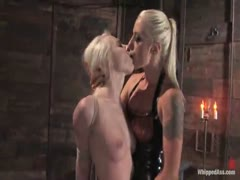 Ashley Jane licks ass and gets fucked in the ass by Lorelei.