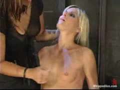 Courtney is dominated in physically challenging positions.