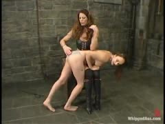 Evie is totally dominated by Kym Wilde in this hot update