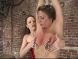Kym Wilde is dom by Lena Ramon, who gives her a hard punishment