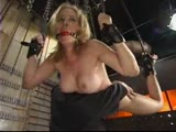 Pretty lady tied up and forced to multiple orgasms!