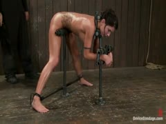 Micah Moore Bound, oiled, what an ass!