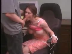 Natasha Office Blowjob Part 2