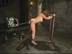 Christina Carter gets bound and fucked by the machines.