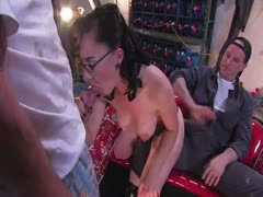 Jade Indica - How fast can a Fucking Machine fuck?