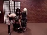 Bound sisters gagged and helpless