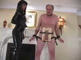 femdom coral-every slave should have a hard cock ins mouth