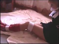 femdom aurora varla-bys ankles whipping