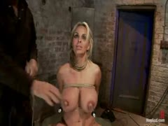 Holly Halston can't stop cumming huge breasts