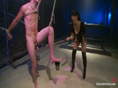 Christian Wilde gets fucked up by a domme