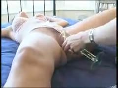 mistress smothering and pissing on slave