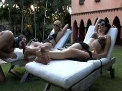 Feet Licking Outside Mistresses Mansion