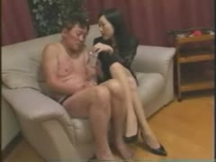 Charming and Cruel Asian Mistress Loves to Burn Men