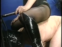 Face suffocation and feet worshiping domination