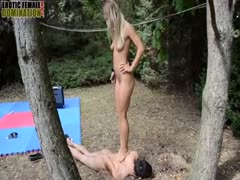Naked teen want fetish fun outdoor