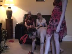 Princess Megan hard degradation to slave with friends