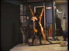 Poor slave has to do everything her mistress wants