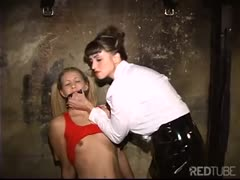 Leah Luv tortured by her ruthless mistress