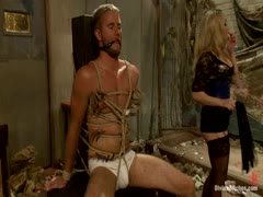 Aiden Starr and Drake Temple Femdom