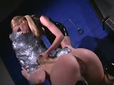 Captive housesitter gets abuse by the mistress in the dungeon