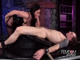 Sex slavery by nasty domina