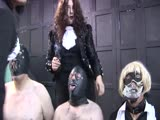 Cigarette tongue torture from heartless mistress