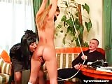 Experienced mistress with sub couples