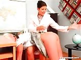 Her students has no escape for her horny fetish desires