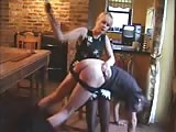 Spanking ass lesson