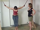Tied up lesbian humiliated