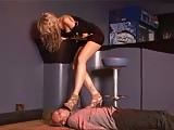 Sadistic foot domina