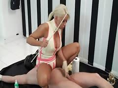 Lady Kate punished slave boy