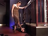 A worthless husband is worth to be humiliated
