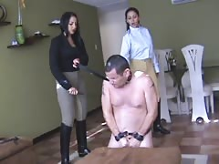 The two whipping mistresses