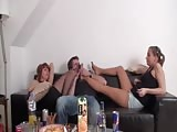 Want foot worship when drunk