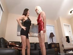 Sissy slave bitch training
