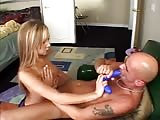 Sub bald man get pegged by Amy Reid