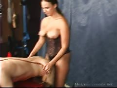 Mistress London with fake dick