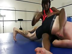 Wrestling with a white guy