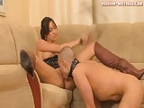 Pleasuring horny mistress