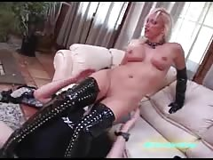 Nikki Hunter pussy eating domination