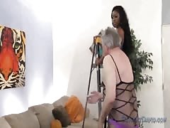 Camille Amore and her white smother slave