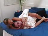 Smothering the room boy